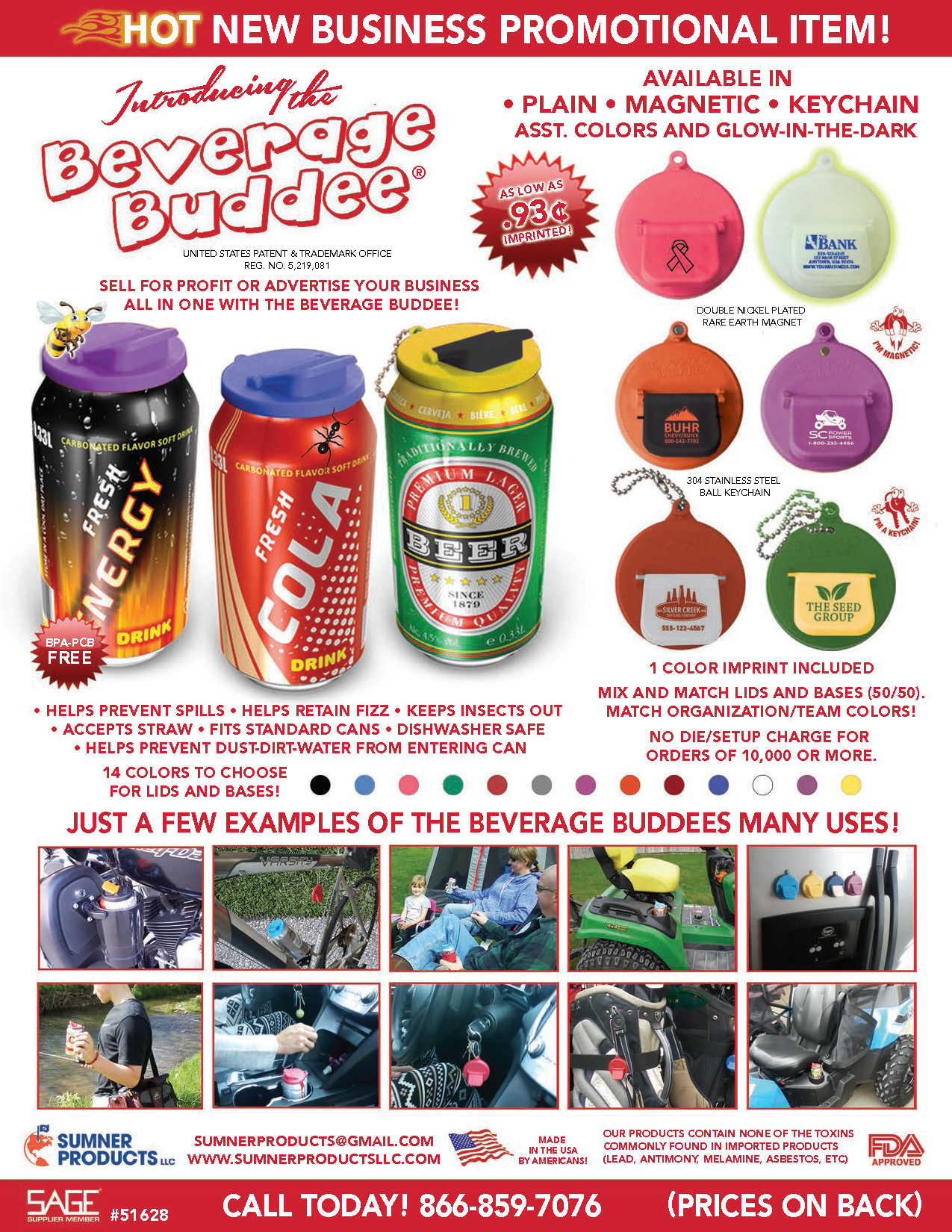 Sumner Products - Promotional Flyer