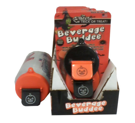 Beverage Buddee - Halloween - Shipper Display - 2 Pack - 12 Count
