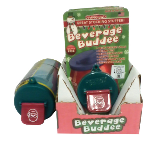 Beverage Buddee - Christmas - Shipper Display - 1 Pack - 12 Count