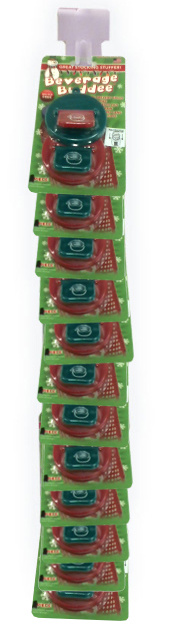 Beverage Buddee - Christmas - Hang Strip - 2 Pack - 12 Count