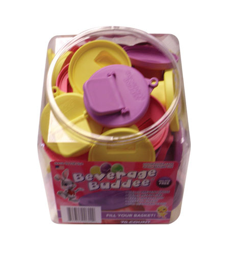 Beverage Buddee - Easter - Plastic Tub - 70 Count